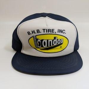 Other - Vintage B.H.B. Bandag Foam Snapback Hipster Hat